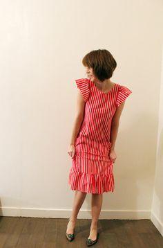 Vintage Marimekko striped shirt dress. $95  http://www.etsy.com/listing/93362691/vintage-marimekko-striped-shirt-dress?ref=sr_gallery_36&sref=&ga_search_submit=&ga_search_query=dress&ga_order=most_relevant&ga_ship_to=US&ga_view_type=gallery&ga_page=25&ga_search_type=all&ga_facet=