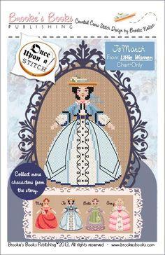 Once Upon A Stitch: Jo - Little Women Pattern                                                                                               ...