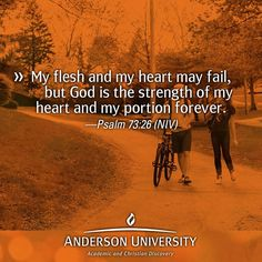 God is the strength of my heart. #AUsoulfood