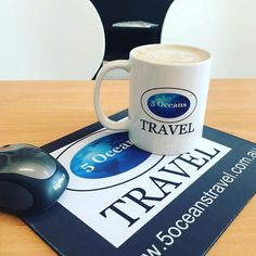 Morning coffee while booking in holidays #lifeisbeautiful #travel #travelagent #holidays #resorts #coffee #coffeeshop #sophiescafe