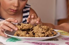 Peas and Thank you: zucchini chocolate chip cookies