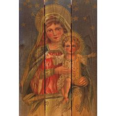 Mother's Arms 16x24-inch Indoor/ Outdoor Full Color Wall Art