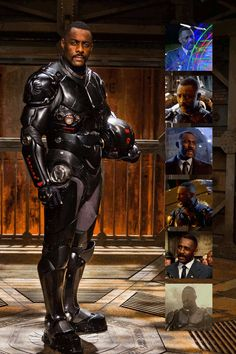 The gift of making the military look good. | 19 Gifts Idris Elba Gave The World