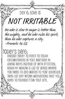 The Love Dare - Day 6, printable!
