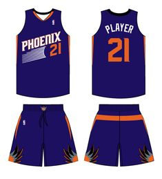 Phoenix Suns Road Logo on Chris Creamer's Sports Logos Page - SportsLogos. A virtual museum of sports logos, uniforms and historical items. Road Logo, Sun News, Phoenix Suns, Sports Logos, Nba, Arizona, History, Brown, Clothes