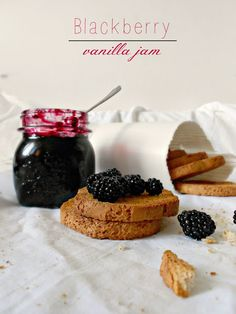 craft marmalade: ♥ It 's time for extra jam ♥ blackberries, vanilla - the beginning of the end