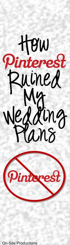 Oh my!  I must read this BEFORE I plan my wedding!!!