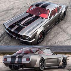 "1,000hp Twin turbo '65 ""Vicious"" Mustang"