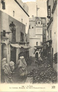 Mosquee de Sidi Mohamed Echerif. Alger