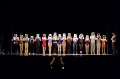 Berkshire Theatre Group's production of A Chorus Line. Photo by Chris Reis