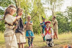 Playing Dress Up | Classical Fun Family Activities Around The Campfire