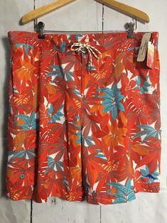 145b2d417a TOMMY BAHAMA Relax Board Shorts/Swim Trunks BAJA LIME FRONDS XXL NWT Lava  Flow