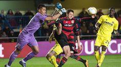 Das wird schwer im Rückspiel: Leverkusen vermasselt es in Villarreal