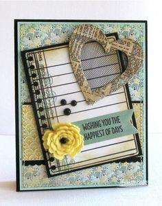 Birthday Sentiments; Journal It - Top Ten; Fishtail Flags STAX Die-namics; Fishtail Flags STAX Die-namics; Insert  It - 3x4 Notebook Paper Die-namics; Royal Rose Die-namics; Mini Scallop Edge Die-namics; Heart STAX Die-namics - Melody Rupple