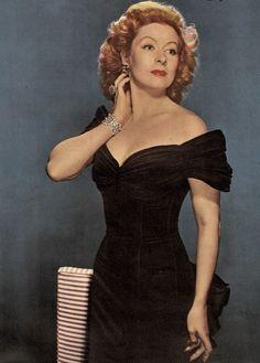 """Greer Garson - stunning gown from """"Random Harvest"""", 1942"""