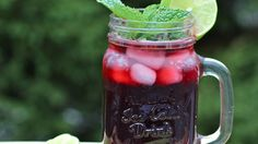 One simple and delicious way to spruce up the traditional mojito we all love is with hibiscus flower. It's truly delicious! This cocktail has the beautiful, bright and colorful appearance of the hibiscus flower.