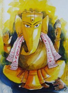 Ganesha by Anirban Seth