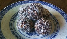 RAW Super Balls - Tasty raw snack with super powers, HIgh in calcium, B Vitamins and EFAs