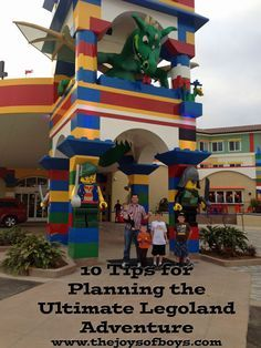 Legoland: 10 Tips for Planning the Ultimate Legoland Adventure - The Joys of Boys