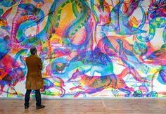 Changing RGB wallpaper, Carnovsky.  In my dreams! Might overwhelm in your own house...