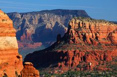 The Chapel of the Holy Cross is one of the most famous landmarks in Sedona. This view was captured from Seven Warriors Mesa.