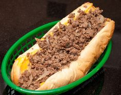 Authentic Philly Cheesesteak Recipe Here is an official Philly cheesesteak recipe based off of Jim's steaks on South St. in Philly. This is an authentic philly cheesesteak recipe. Philly Cheese Steaks, Authentic Philly Cheese Steak Recipe, Cheese Steak Sandwich Recipe, Steak Sandwiches, Steak Recipes, Grilling Recipes, Cooking Recipes, Burger Recipes, Dog Recipes