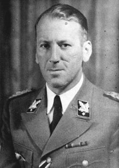 Axis leaders - Ernst Kaltenbrunner (Oct 4, 1903 – Oct 16, 1946) was an Austrian-born senior official of Nazi Germany during World War II. A general in the Schutzstaffel (SS), between January 1943 and May 1945 he held the offices of Chief of the Reichssicherheitshauptamt (RSHA, Reich Main Security Office) and President of Interpol. He was the highest-ranking member of the SS to face trial at the first Nuremberg Trials. He was found guilty of war crimes and crimes against humanity and…