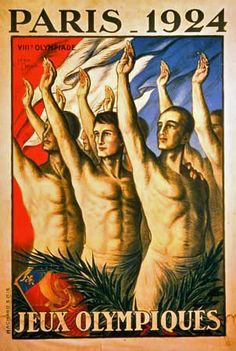 Paris 1924 - Design: Jean Droit