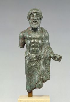 Figure of an Etruscan man 400 BC