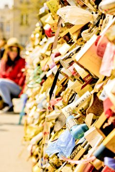 Been to Paris, France before but didn't get a chance to place a lock on the bridge.