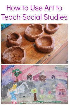 Art can be used to teach many things like social studies. Social studies and art integration can be a great way to help students learn more about the topics they are studying. Social Studies Projects, 4th Grade Social Studies, Social Studies Classroom, Social Studies Activities, Teaching Social Studies, Teaching History, Art Classroom, Teaching Art, Teaching Tools