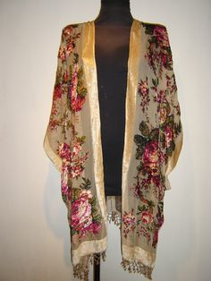 Kimono Fringe Jacket by ElsaBohemian on Etsy, £39.99