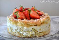 Inkiväärihillo: Raparperijuustokakku Cheesecake, Baking, Desserts, Food, Tailgate Desserts, Deserts, Cheesecakes, Bakken, Essen