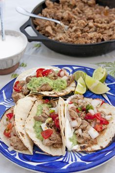 What are you making for dinner tonight or tomorrow for Taco Tuesday? How about some Tacos de Carnitas?  Make the Tortillas on our Comal!