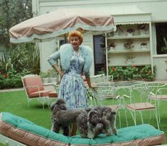 Lucille Ball at Home in the 1950s