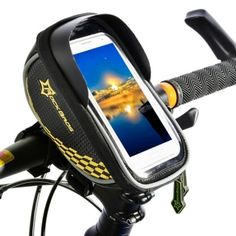 Bicycle Accessories Duuti Touchscreen Bike Phone Case Bicycle Frame Front Tube Handlebar Bag Bracing Up The Whole System And Strengthening It