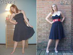Homecoming Dress Refashion | allonsykimberly.com