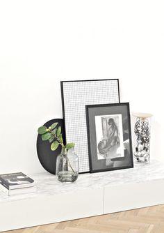 Ikea cabinet hack: Minimal living room TV & storage unit