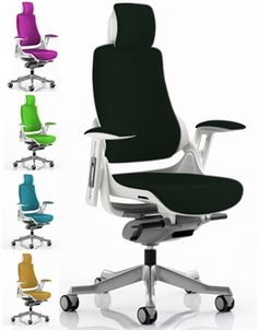 zeta desk chair wooden massage 40 best ergonomic office chairs images executive in black fabric