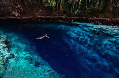 Enchanted River, Philippines | Travel | @projectinspo