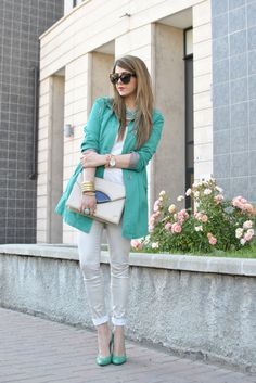 Look of the day: Green Ice
