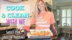 SHEET PAN CHICKEN TERIYAKI AND VEGGIES // SUPER EASY MEAL FOR MOMS // SHEET PAN MEALS