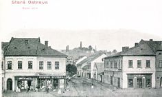 Mostní ulice Ulice, Czech Republic, Bohemia