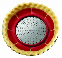 Perfect your pies with the Chicago Metallic Pie Weight for 9 to 11-inch Pies, available at the Food Network Store.