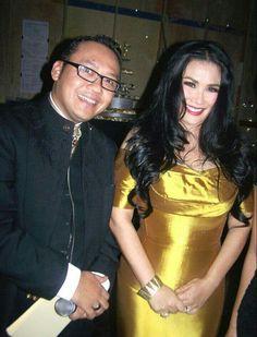 With Titi DJ Vocalist & Celebrity