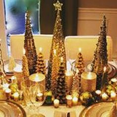 awesome 49 Cheap and Easy Christmas Centerpieces Ideas  https://homedecorish.com/2017/11/02/49-cheap-and-easy-christmas-centerpieces-ideas/