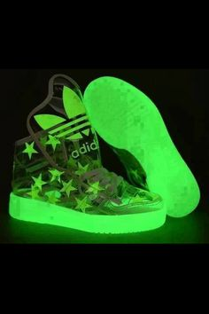Glow in the dark shoes !!!