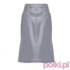 Spódnica midi w paseczki Aryton #fashion #polkipl #bebeauty #moda #style #trendy #totallook