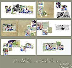Handle with Love 10x10 WHCC Flush Mount Album oh snap boutique
