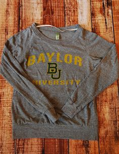 This looks like such a comfy #Baylor sweater!
